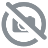 Lot 10 gants Latex Menage Jaune Floqué